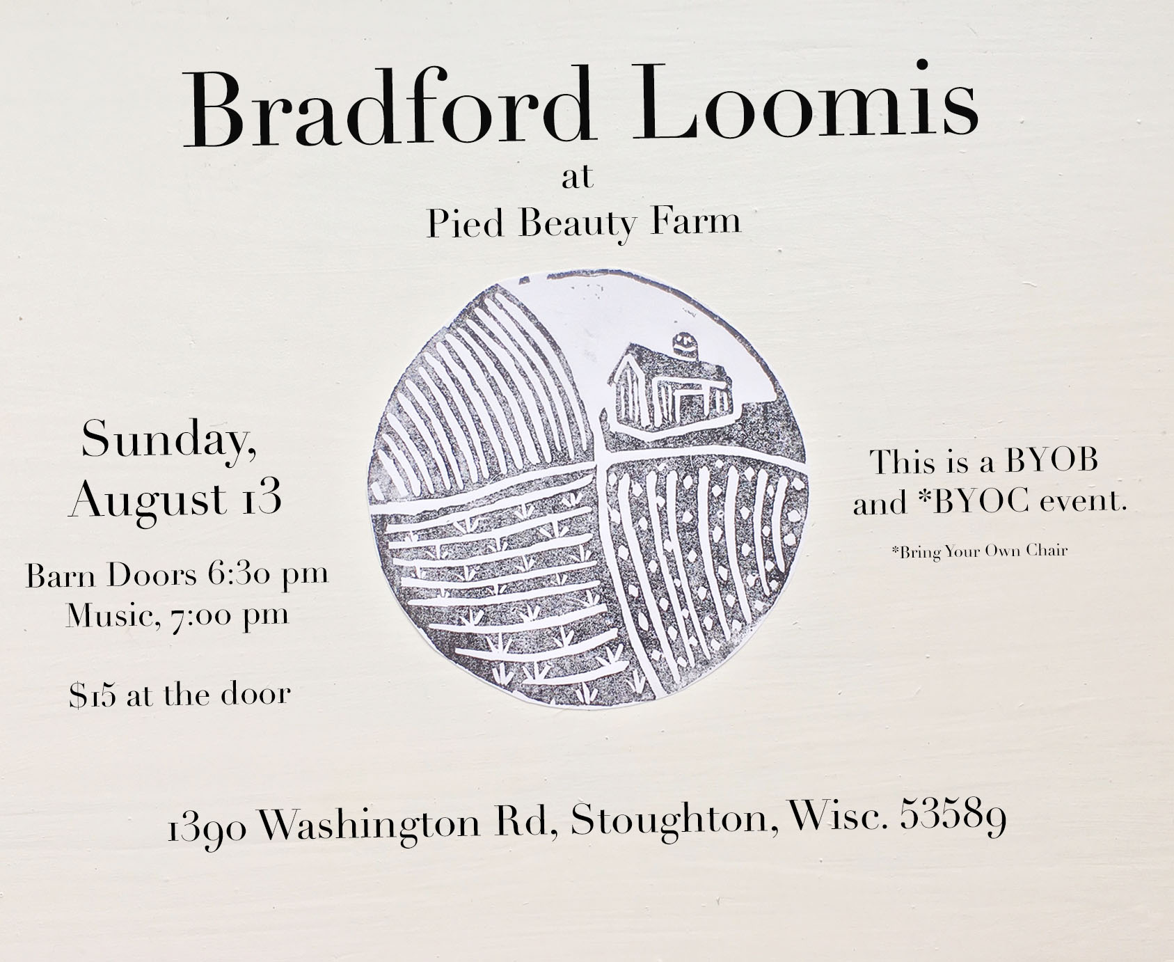 Bradford Loomis announcement