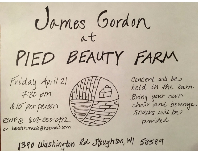 James Gordon Invitation