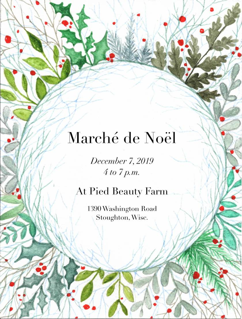 Marche de Noel Announcement